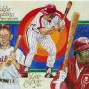 Eddie Waitkus, Pete Rose & Dick Allen