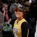 Hayden Panettiere At The Lakers Game In LA March 09 2010