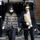 Keira Knightley and James Righton Out in London - 454 x 636