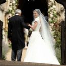Pippa Middleton at her wedding at St Marks Church in Englefield - 454 x 305