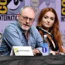 Actor Sophie Turner at Comic-Con International 2017