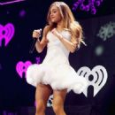 Ariana Grande performs onstage during KIIS FM's Jingle Ball 2013 at Staples Center on December 6, 2013 in Los Angeles, CA