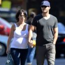 Jennifer Love Hewitt steps out for a casual stroll with her fiance Brian Hallisay in New York City