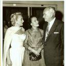 Conrad Hilton with Celeste Holm and Dolores Del Rio
