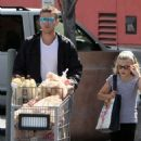 Ryan Phillipe was spotted at the local Ralph's supermarket with Ava and Deacon on Saturday (March 20).