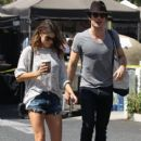Nikki Reed and Ian Somerhalder's Out Shopping (August 10, 2014)
