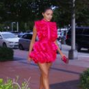 Olivia Culpo – Heads to dinner at Miami Swim Week in Miami
