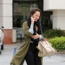 Cheryl Burke – Leaves Coffee Bean in LA - 454 x 533