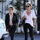 Ashley Benson was seen out and about with a friend in Los Angeles, California on March 31, 2017