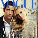How Clive Owen and Toni Garrn met at the fashion shoot