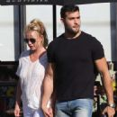 Britney Spears and boyfriend Sam Asghari – Arrives at Le Pain in Beverly Hills
