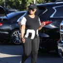 Blac Chyna and Kourtney Kardashian at The Pumpkin Patch in Los Angeles, California - October 14, 2016 - 454 x 611