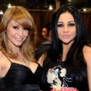 2011 AVN Awards Show - Monique Alexander, Audrey Bitoni
