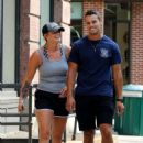 Miranda Lambert in Shorts – Out for a stroll in NYC