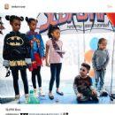 Blac Chyna and King Cairo at Amber Rose and Wiz Khalifa's Son Sebastian's Birthday Party at Amber's Home in Tarzana, California - February 19, 2017 - 454 x 467