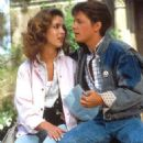 Claudia Wells and Michael J.Fox