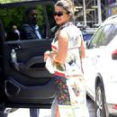 Priyanka Chopra in Multi-Colored Dress – Out in New York City - 454 x 682