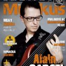 Alain Caron (bass player) - Muzikus Magazine Cover [Czech Republic] (July 2013)