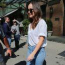 Dakota Johnson – Leaving her hotel in New York