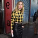 Amber Heard – Alice + Olivia Fashion Show in New York
