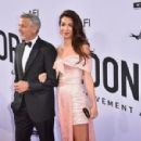 George Clooney and Amal Alamuddin : American Film Institute's 46th Life Achievement Award Gala Tribute - 454 x 299