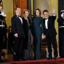 Carla Bruni - State dinner honouring visiting Russian President at the Elysee Palace, 2 March 2010