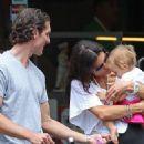 Bethenny Frankel's West Village Family Walk