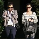 Kim & Kourtney Kardashian's Beverly Hills Lunch Date