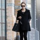 Natalie Portman Out With Her Dog In NYC - February 19, 2011