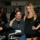 "Marisa Miller - V-Rod Muscle Motorcycle At ""The Evolution Of The Icon"" In New York City, 04.12.2008."