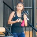 Brenda Song seen stopping by a gym for a workout in Studio City, California on July 26, 2014 - 416 x 594
