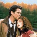 Pierce Brosnan and Aislín McGuckin