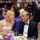 Stephanie March and Daniel Benton