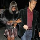 Naomi Campbell And Boyfriend Vladislav Doronin Spotted Out In New York City