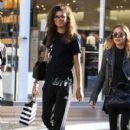 Zendaya Coleman is seen shopping with her mom and dog at the Grove in Los Angeles, California on August 12, 2016 - 410 x 600