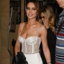 Cheryl Tweedy – Arrives at Georges Hobeika Couture Fashion Show in Paris - 454 x 681