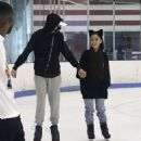 Ariana Grande and Pete Davidson at Ice Skating in New York City