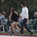 Vanessa Hudgens and Boyfriend Austin Butler – Out in Los Angeles