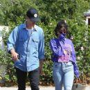 Vanessa Hudgens – Heading to breakfast with Austin Butler in Los Angeles - 454 x 681