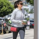 Nina Dobrev in Leggings – Out in West Hollywood