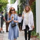Isla Fisher at a Iced Coffee in Los Angeles May 18, 2017