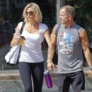 Cameron Diaz out at the gym for a morning workout in Manhattan (August 28)