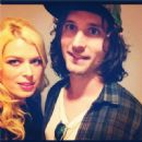 Nick Valensi and Amanda De Cadenet