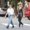 Kristen Stewart and Stella Maxwell – Headed to a local grocery store in Los Feliz