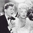 With Betty  Hutton