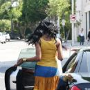 Brandy Norwood Pops Up In L.A, 2008-07-28