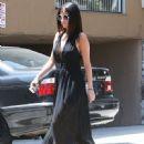Selena Gomez Heads to Lunch