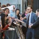 Chris Evans- April 11, 2016- The Jimmy Kimmel Show