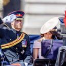 Meghan Markle – 2018 Annual Trooping The Colour Ceremony in London