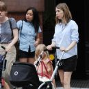 Sofia Coppola Walking With Her Children In New York City, 16 June 2010